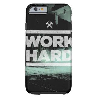 Trabajo difícilmente funda de iPhone 6 tough