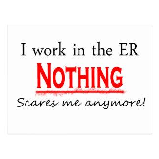 Trabajo en el ER…. Postales