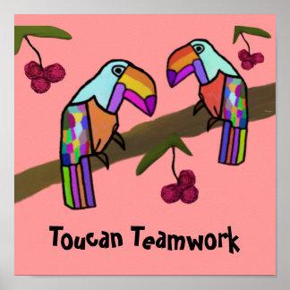 Trabajo en equipo de Toucan Impresiones