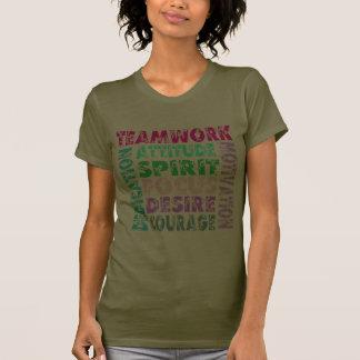 Trabajo en equipo de VolleyChick Camisetas