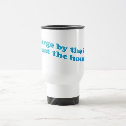 Trabajo en horas extras tazas de café