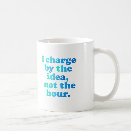 Trabajo en horas extras taza de café