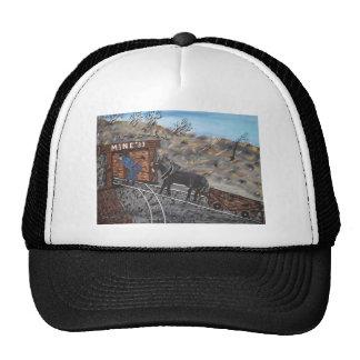Trabajo en la mina de carbón gorra