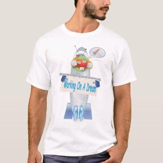 Trabajo en una camiseta ideal