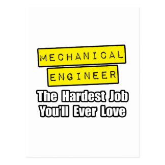 Trabajo más duro industrial del ingeniero… tarjetas postales