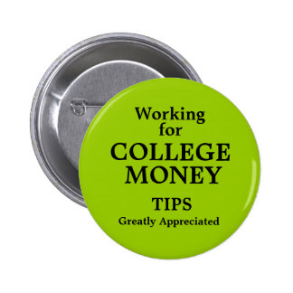 Trabajo para el dinero de la universidad pin
