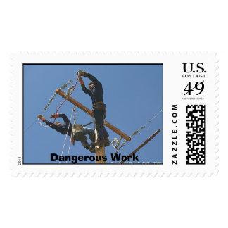 Trabajo peligroso sellos