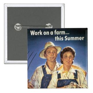 Trabajo sobre una granja… este verano pin cuadrado