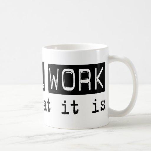 Trabajo social es taza