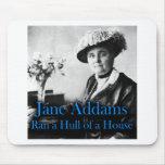Trabajo social: Jane Addams corrió un casco de una Alfombrillas De Ratón