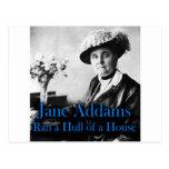 Trabajo social: Jane Addams corrió un casco de una Postales