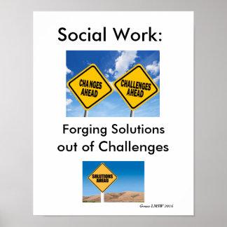 Trabajo social póster