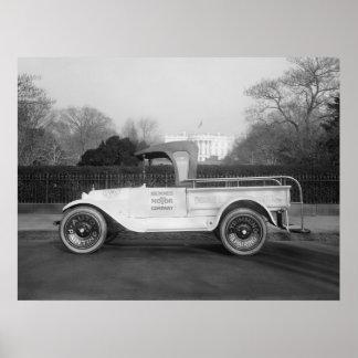 Trabajo Truck, 1921 de Stylin Impresiones