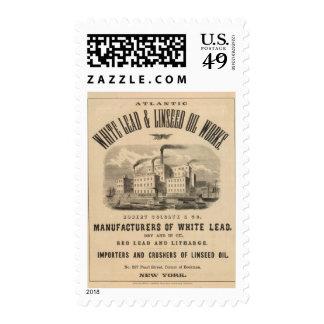 Trabajos atlánticos de la ventaja blanca y del sellos