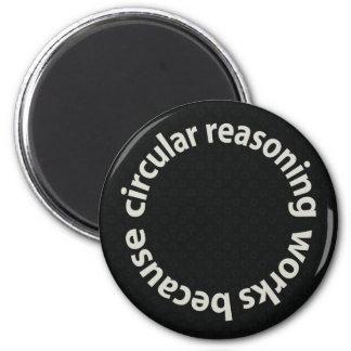 Trabajos circulares del razonamiento porque imanes imán redondo 5 cm