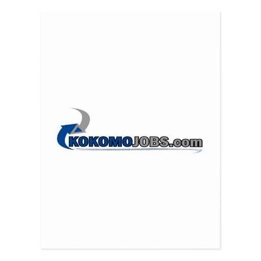 Trabajos de Kokomo Postales