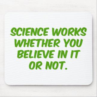 Trabajos de la ciencia alfombrillas de ratón