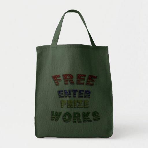 Trabajos de la empresa libre bolsas lienzo