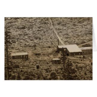 Trabajos de la explotación minera de Kearsarge Tarjeta De Felicitación