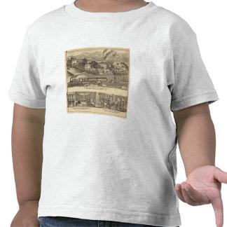 Trabajos de la fundición y de la máquina de camiseta