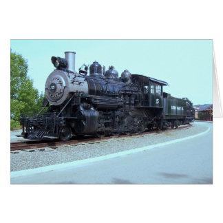 Trabajos de la locomotora de Baldwin # 15 - valle Tarjeta Pequeña