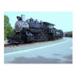 Trabajos de la locomotora de Baldwin # 15 - valle  Tarjetas Postales