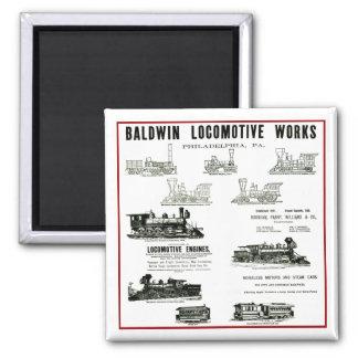 Trabajos de la locomotora de Baldwin Iman Para Frigorífico