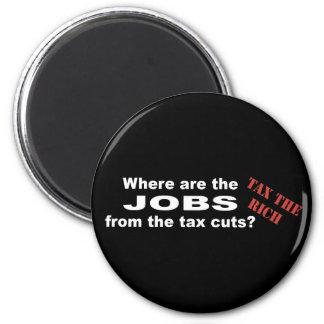 ¿Trabajos de las reducciones de impuestos? Imán Redondo 5 Cm