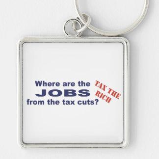 ¿Trabajos de las reducciones de impuestos? Llavero