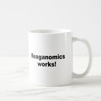 Trabajos de Reaganomics Taza De Café