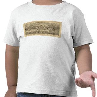 Trabajos del carbón de Davosburgh Camisetas