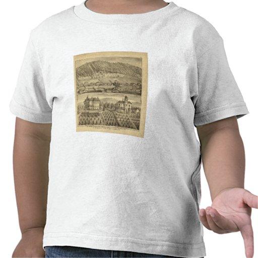 Trabajos del carbón de O'Neil y Company Camisetas