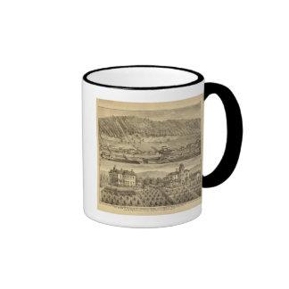 Trabajos del carbón de O'Neil y Company Tazas De Café