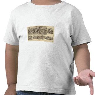 Trabajos del clavo de Belmont, rodando Camisetas