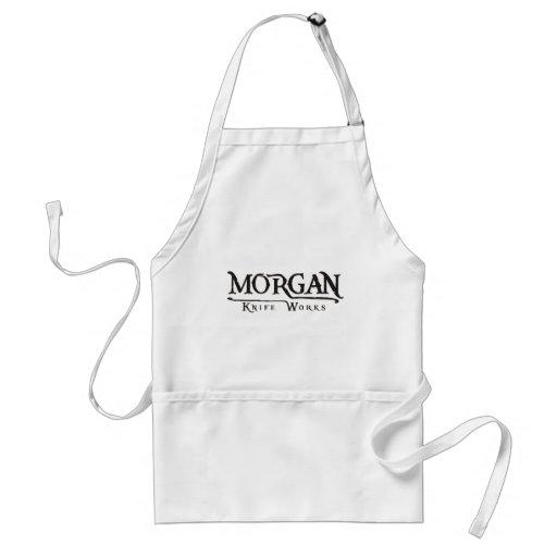 Trabajos del cuchillo de Morgan Delantal