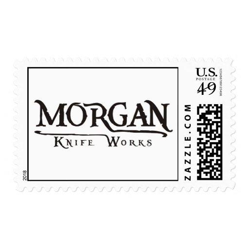 Trabajos del cuchillo de Morgan Sello