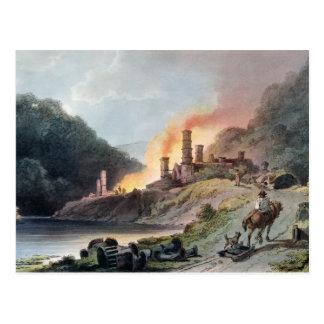 Trabajos del hierro, Coalbrookdale Tarjeta Postal
