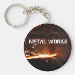 Trabajos del metal llaveros