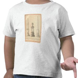 Trabajos del monumento del mármol y del granito de camiseta