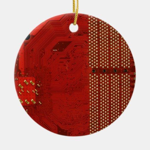 Trabajos del ordenador ornamento para arbol de navidad