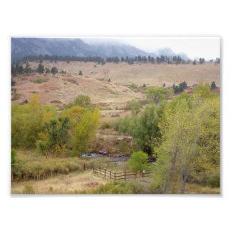 Trabajos del paisaje de Colorado Fotos