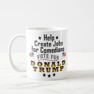 Trabajos divertidos de Donald Trump para los Taza