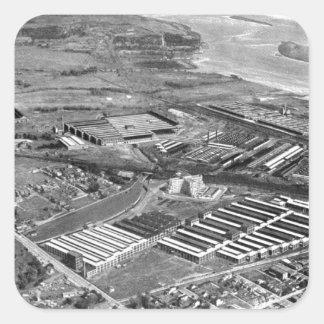 Trabajos locomotores de Baldwin, Eddystone Calcomanías Cuadradases