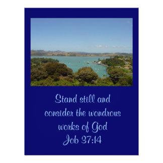 """Trabajos maravillosos [de dios] - 37:14 del folleto 8.5"""" x 11"""""""