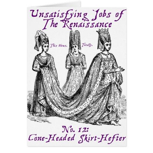 Trabajos Unsatisfying del renacimiento Tarjeta