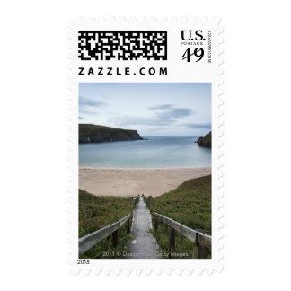 Trabane Or Silver Strand Near Malin Beg Stamp