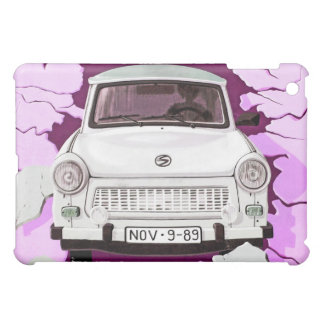 Trabant Car and Pink/Lilac Berlin Wall iPad Mini Cases