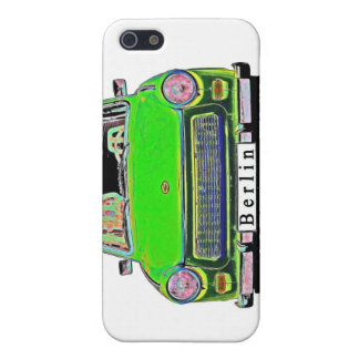 Trabant Car in Green, Berlin Cover For iPhone SE/5/5s