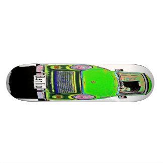 Trabant Car in Green, Berlin Skateboard Deck