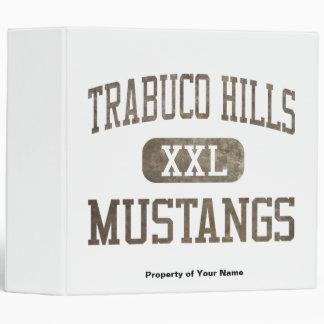 Trabuco Hills Mustangs Athletics 3 Ring Binder